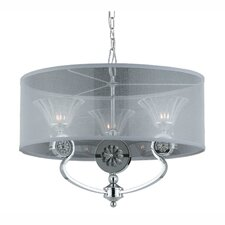 Medallion 3 Light Drum Foyer Pendant