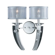 <strong>Triarch Lighting</strong> Aurora 2 Light Wall Sconce