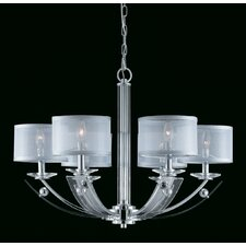<strong>Triarch Lighting</strong> Aurora 6 Light Chandelier
