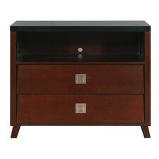 Marlowe 2 Drawer Media Chest