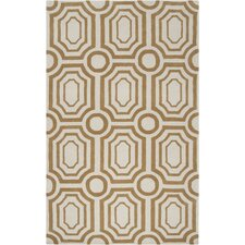 <strong>angelo:HOME</strong> Hudson Park Old Gold/Winter White Rug
