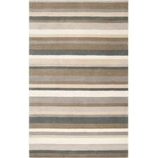 Madison Square Caper Green/Brown Area Rug