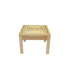 Square Western Red Cedar Side Table