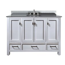 "Modero 49"" Bathroom Vanity Set with Single Sink"