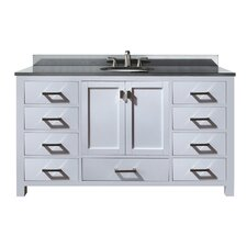"Modero 61"" Bathroom Vanity Set with Single Sink"