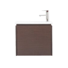 "Milo 22"" Wall Mounted Vanity Set with Single Sink"