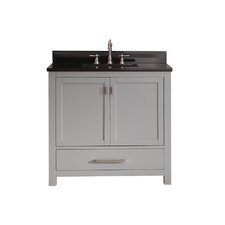 "Modero 37"" Single Bathroom Vanity Set"