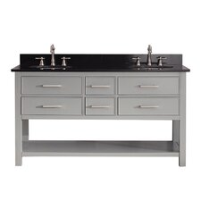 "Brooks 61"" Vanity Set with Double Sink"