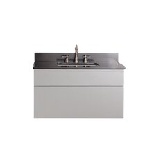 "Tribeca 37"" Wall Mounted Vanity Set with Single Sink"