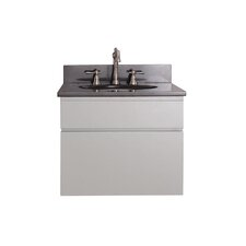 "Tribeca 25"" Wall Mounted Vanity Set with Single Sink"
