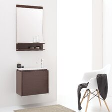 "Milo 22"" Single Bathroom Vanity Set with Mirror"