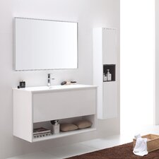 "Sonoma 39"" Single Bathroom Vanity Set with Mirror"