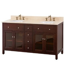 "Lexington 61"" Double Vanity Set"
