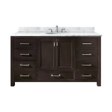 "Modero 60"" Single Bathroom Vanity Set"