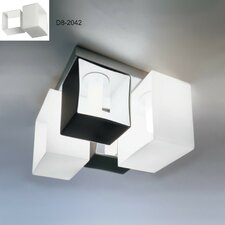 Domino 4 Light Flush Mount