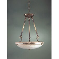 Castella Traditional Pendant in Antique Brass