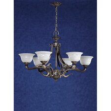 Saraso 6 Light Chandelier