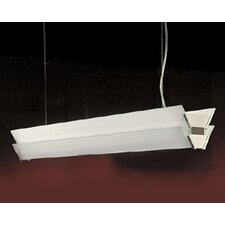 <strong>Zaneen Lighting</strong> Duplex Linear Pendant in Gray