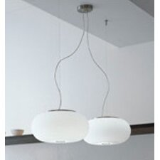 Blow Large Single Light Pendant in Nickel