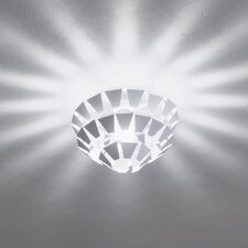 <strong>Zaneen Lighting</strong> Puskin Flush Mount in White