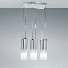 <strong>Zaneen Lighting</strong> Jazz Six Light Pendant Holder in White