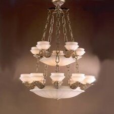 <strong>Zaneen Lighting</strong> Leon Traditional Chandelier in Ancient Gold