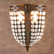 <strong>Zaneen Lighting</strong> Longas Traditional 2 Light Wall Sconce