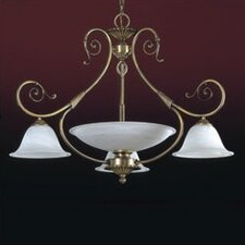 <strong>Zaneen Lighting</strong> Alava I Four Light Traditional Chandelier in English Bronze