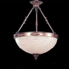 <strong>Zaneen Lighting</strong> Granada Traditional Pendant in Pewter