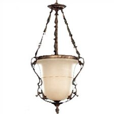 "<strong>Zaneen Lighting</strong> Zona 45"" Pendant in Rustic Bronze"