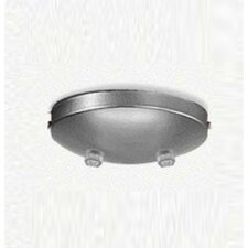 Double Pendant Accessory Canopy in Metallic Gray