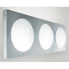 <strong>Zaneen Lighting</strong> Dome 3 Light Wall Sconce