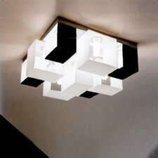 <strong>Zaneen Lighting</strong> Domino Nine Light Flush Mount