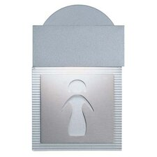 Mini Signal Ladies Room Wall Light
