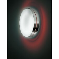 <strong>Zaneen Lighting</strong> Tamburo Two Light Flush Mount/Wall Light in Gray