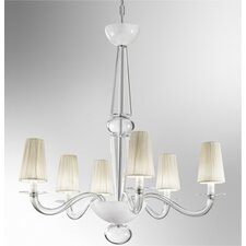 <strong>Zaneen Lighting</strong> Prado 6 Light Chandelier