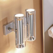 <strong>Zaneen Lighting</strong> TU-B Dual Vertical 4 Light Wall Sconce