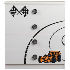 Sonic 4 Drawer Chest