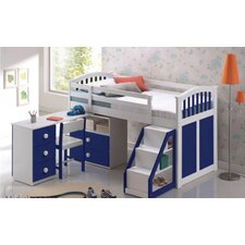 Ruby Mid-Sleeper Bunk Bed