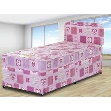 Hearts Divan Bed