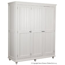 <strong>Sweet Dreams</strong> Rook 3 Door Wardrobe