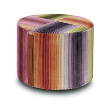 Paraguay Cylindrical Pouf Ottoman