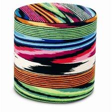 Naila Cylindrical Pouf Ottoman