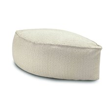 Margherita Pointillee Ontario Leaf-shaped Pouf Ottoman