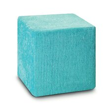 Margherita Pointillee Ovens Pouf Cube Ottoman