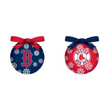 <strong>Team Sports America</strong> MLB 6 Piece LED Boxed Ornament Set