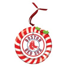 MLB Candy Cane Wreath
