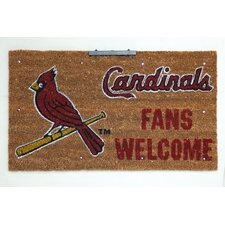 MLB Lighted Coir Mat