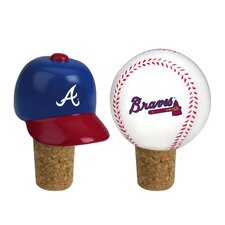 MLB 2 Piece Bottle Cork Set