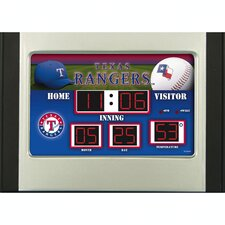 MLB Scoreboard Desk Clock (NG)